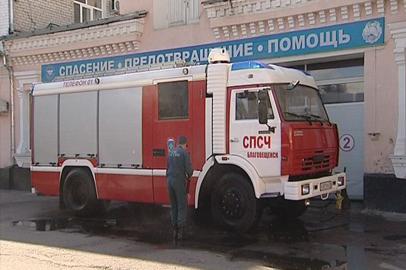 Новые спецмашины прибыли в пожарные части Приамурья
