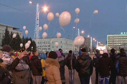 В Благовещенске проведена акция ко дню памяти жертв ДТП