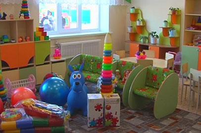 В Екатеринославке за счёт спонсоров открыли две группы для детей до 3 лет
