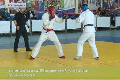 Рекордное количество участников собрал открытый чемпионат Благовещенска по рукопашному бою