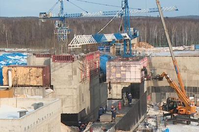 На  «Восточном» продолжается строительство сооружений