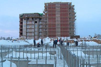 Усиленными темпами идет строительство города Циолковский