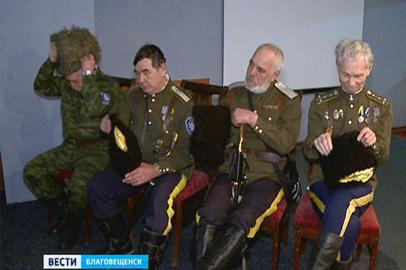Свыше 80 дальневосточных казаков съехались в Благовещенск