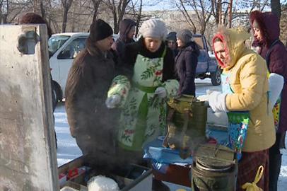 Праздничный обед для бездомных организовали в Благовещенске