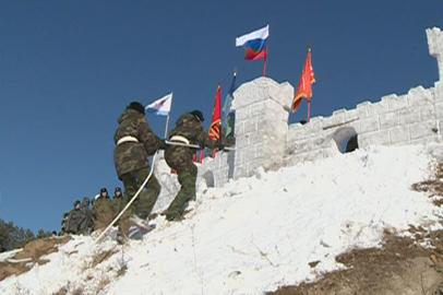 В Приамурье прошли соревнования военно-патриотических клубов