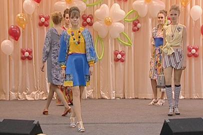 Амурские студенты и школьники представили свои модели одежды на областном конкурсе