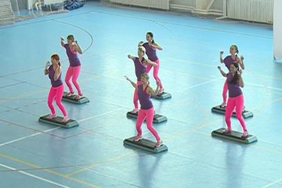 Чемпионат по фитнес-аэробике в Благовещенске собрал более 50 участниц