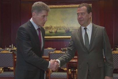 Олег Кожемяко доложил премьер-министру страны о состоянии экономики и готовности к посевной