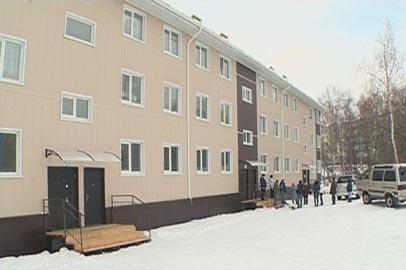 Переселенцы из бараков в Талакане потребовали ремонта новых квартир