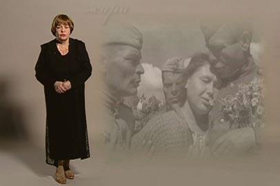 Гульчера Быкова читает стихотворение К.Симонова «Жди меня»
