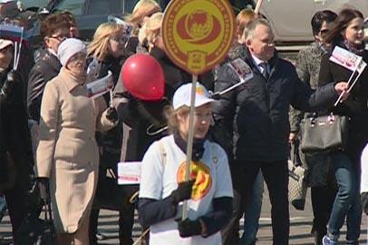 АмГУ отметил 40-летие праздничным шествием и концертом