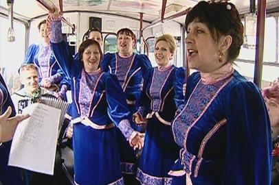 Военные песни зазвучали в курсирующем по Благовещенску «Победном троллейбусе»