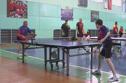Благовещенская команда выиграла первенство Белогорска по настольному теннису