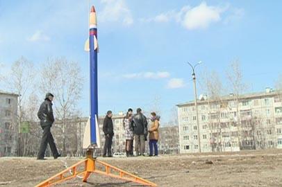 Мини-ракеты запустили в воздух ученики школы №16 Благовещенска