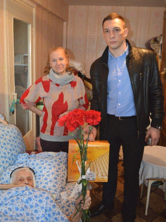 Сбербанк оказывает помощь ветеранам Великой Отечественной войны