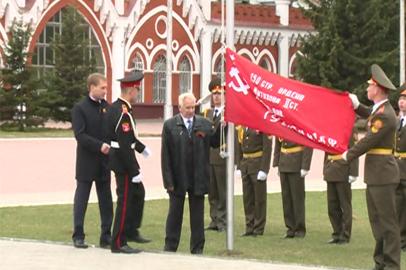 Копии Знамени Победы поднимут на площадях всех амурских муниципалитетов