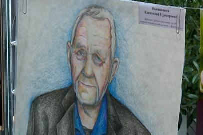 Выставка портретов амурских ветеранов открылась в благовещенском ОКЦ