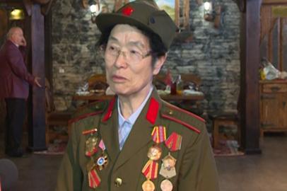 В Благовещенске встретили ветерана Второй мировой из КНР