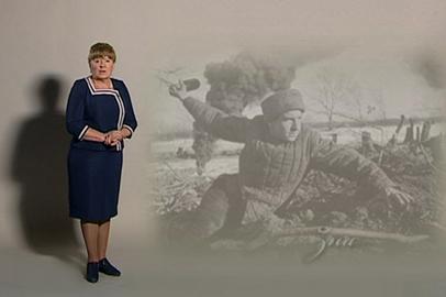 Марина Селюч читает стихотворение Р. Рождественского «Реквием»