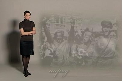 Светлана Леонтьева читает стихотворение Эдель Вайс «День Победы»