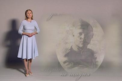 Наталья Гончарова читает стихотворение Раисы Куликовой «Слава ветеранам»