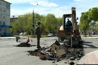 На ремонт дорог Благовещенска затратят треть миллиарда рублей