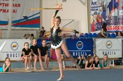 Первенство по художественной гимнастике прошло в новом формате