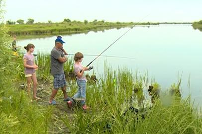 Воспитанники детдома приняли участие в чемпионате по рыбной ловле