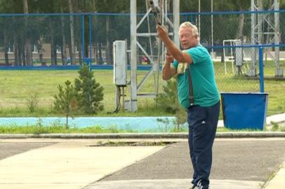 Основными участниками турнира по городкам в Благовещенске стали пенсионеры