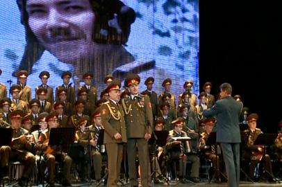 В Благовещенске выступил легендарный ансамбль имени Александрова