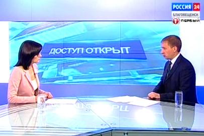 Врио губернатора Приамурья А.Козлов о состоянии и качестве дорог