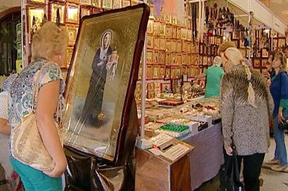 На ярмарке в Благовещенске можно приобрести религиозные товары и духовно обогатиться