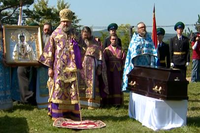 В Албазино торжественно перезахоронили останки защитников острога