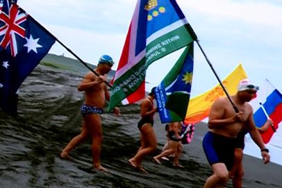 Амурские моржи повторили маршрут Курильской десантной операции августа 45-го