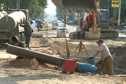 Реконструкция канализационного коллектора в Благовещенске идет полным ходом
