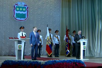 А.Козлов официально вступил в должность губернатора Амурской области