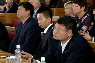 За сессией Заксобрания Амурской области впервые наблюдали парламентарии Хэйхэ