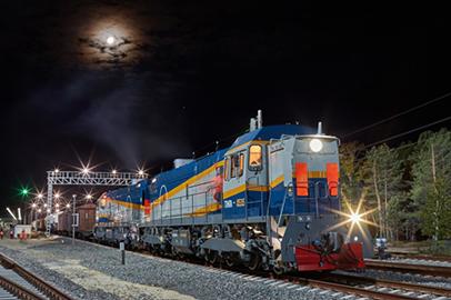 Спецпоездом из Самары на Восточный прибыла  ракета-носитель «Союз-2»