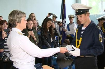 Амурский филиал Морского госуниверситета пополнился новоиспеченными курсантами