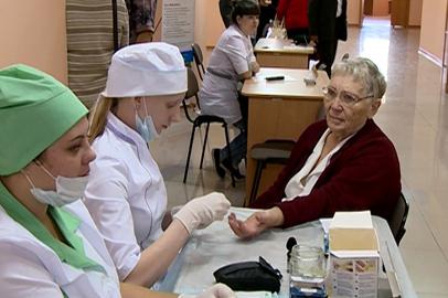 Благовещенские пенсионеры прошли массовое медобследование