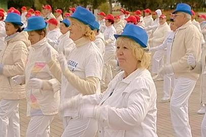 Благовещенские и тамбовские пенсионеры закрыли сезон «Танцев для здоровья»