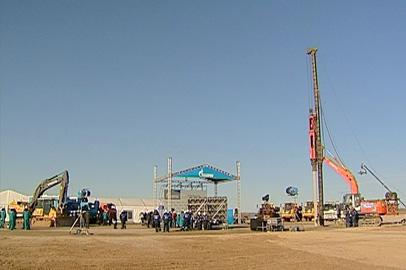 В Свободненском районе началось строительство крупнейшего в стране ГПЗ