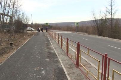 В Тынде сдан в эксплуатацию участок дороги в направлении микрорайона Таёжный