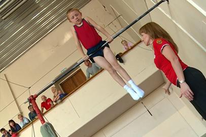 В Благовещенске выбирали лучших гимнастов
