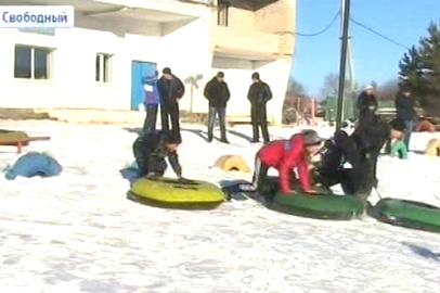 На свободненской лыжной базе стартовал новый сезон