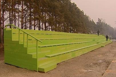 Первые соревнования на новом стадионе в Васильевке Белогорского района пройдут весной