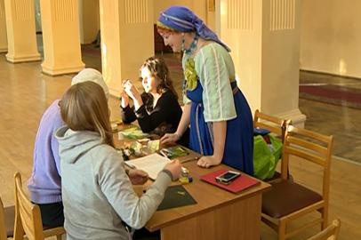 Курсы по изготовлению новогодних сувениров открылись в АОДНТ
