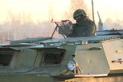 Условную атаку террористов на склад боеприпасов отразили амурские военные