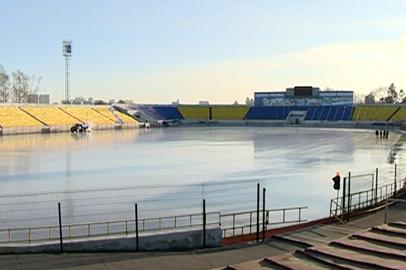 Сегодня на благовещенском стадионе «Амур» откроется каток