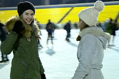 Новый зимний сезон в Благовещенске открылся «Ледовым балом»